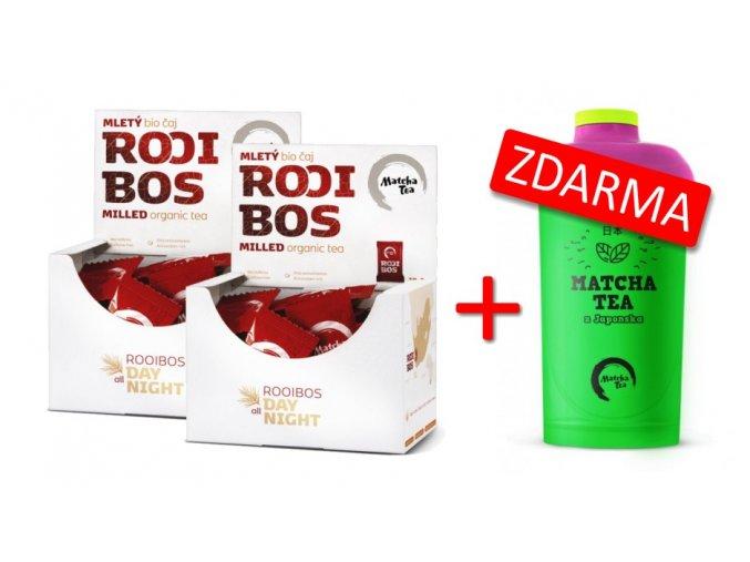 Rooibos 2x+šejkr D ZDARMA