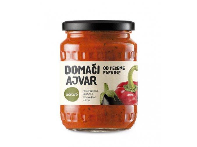 Ajvar z pečené papriky 560g