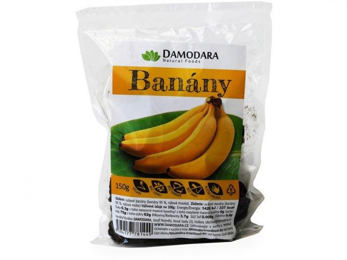 Banány sušené 150g