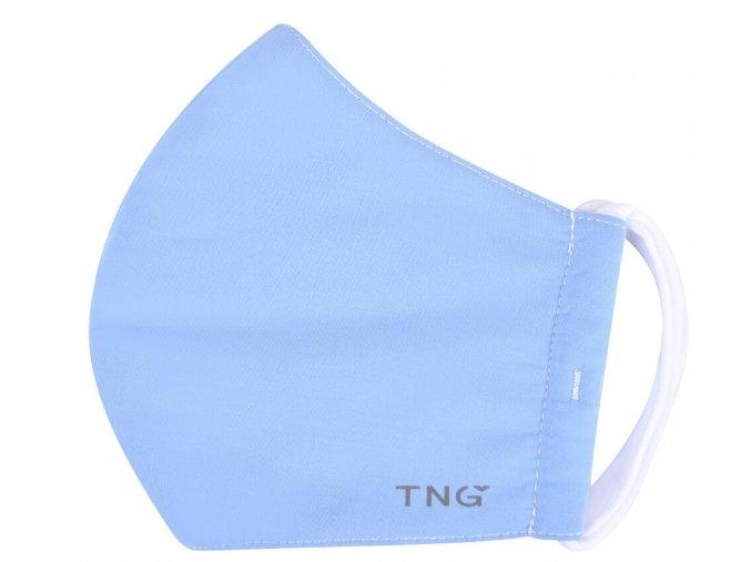 TNG Antibakteriální obličejová rouška z NANO materiálu, modrá, velikost L 1 ks