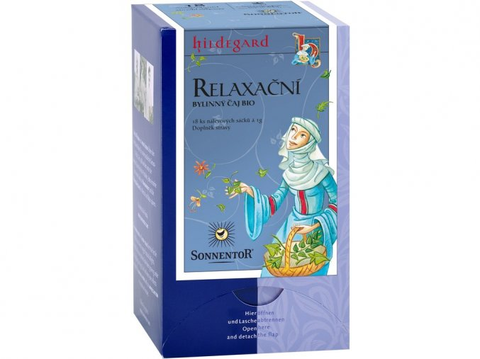 Bio Relaxační čaj sv. Hild. porc. dárkový 18g