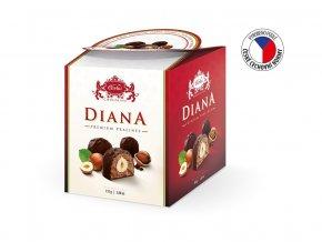 Diana BOX hořké pralinky 110g, min. trv. 14.9.2019
