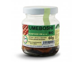 Bio Umeboshi, sklo cca 60g