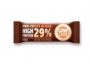 Tyčinka PRO-TE(BE)-IN  high protein Kakaové boby a kakao 35g
