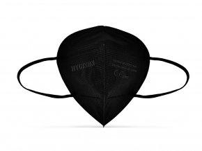 HYGISUN Respirátor FFP2 černý 6 ks