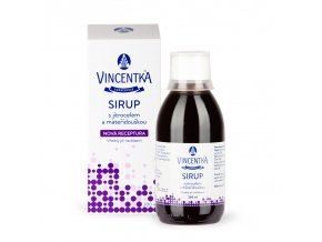 Vincentka - Sirup 200 ml
