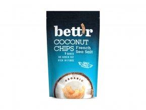 Bio Kokos chips s mořskou solí 70g