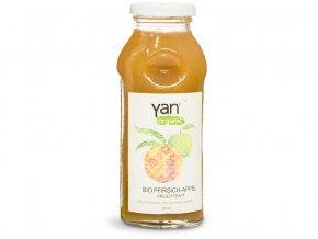 Bio Šťáva broskev jablko 100% bez cukru 250ml