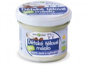 Bio dětské tělové máslo 100ml