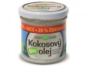 Bio Kokosový olej panenský 100 ml+20% ZDARMA