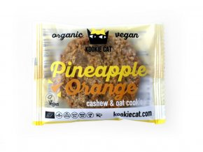 Bio koláček ovesný bezlepkový ananas a pomeranč 50g