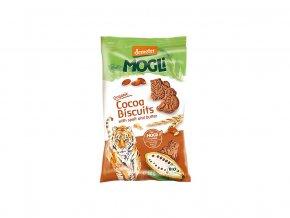 Bio Mini sušenky tygr máslové s kakaem bez cukru 50g