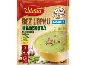 Hrachová polévka se slaninou 74g