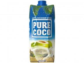 Pure Coco 100% kokosová voda 500ml, min. trv. 7.9.2019