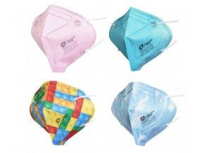 General Public Protection Dětská obličejová rouška (respirátor) 10 ks