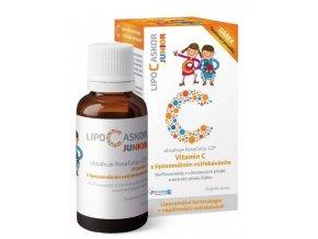 LIPO-C-Askor Junior Tekutý lipozomální vitamin C pro děti 110 ml
