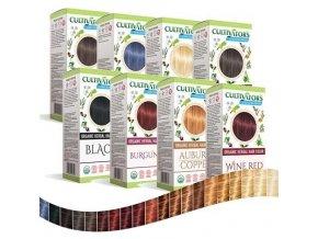 Cultivator BIO 100% přírodní Barva na vlasy