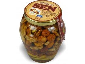 Med s oříškovou směsí 350 g