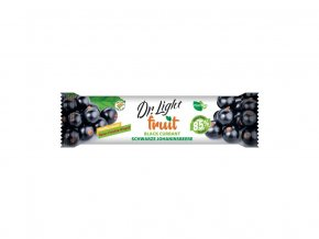 Tyčinka ovocná Dr.Light Fruit Černý rybíz 30g, min. trv. 30.8.2019