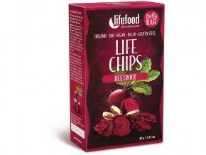 Bio Life chips červená řepa 40g