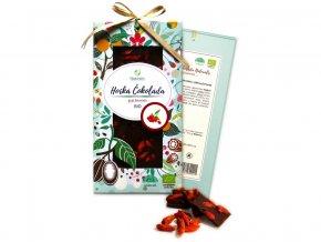 Bio čokoláda s goji berries - hořká 80g