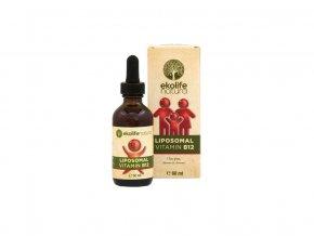 Lipozomální vitamín B12, kapky 60ml