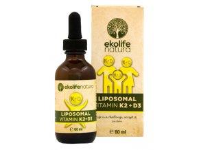 Lipozomální vitamín D3 kapky 60ml