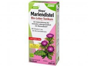 Bio bylinné tonikum Ostropetřec mariánský - Pro zdravá játra 250 ml