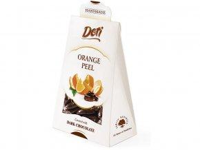 Bio Pomerančová kůra v čokoládě - dárková taštička 100g