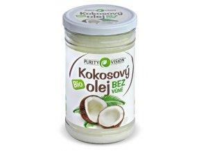 Bio kokosový olej bez vůně 900ml