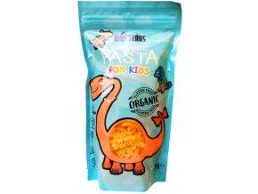 Bio těstoviny kukuřično-rýžové pro děti Biosaurus 200g