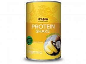 Bio proteinový koktejl banán a kokos 450g