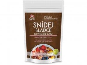 Bio snídaňová směs Snídej sladce bez přidaného cukru - nepražené kakao, goji 360g