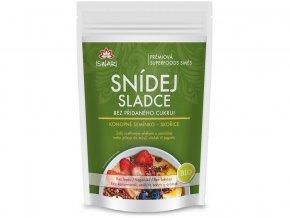 Bio snídaňová směs Snídej sladce bez přidaného cukru - konopné semínko, skořice 360g