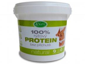 100% rýžový protein natural 500g