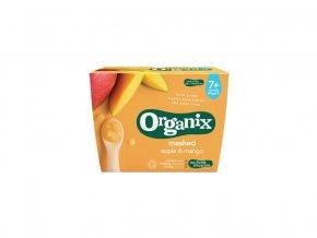 Bio jablečno-mangová přesnídávka 4x95g