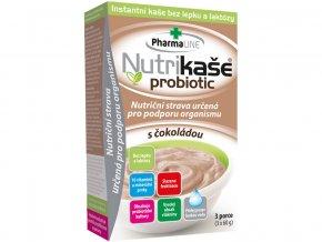 Nutrikaše probiotic s čokoládou 180g (3x60g)