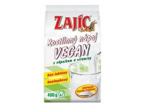 Rostlinný nápoj Zajíc Vegan 400g sáček