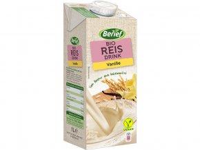 Bio rýžový nápoj Vanilka BERIEF 1 l