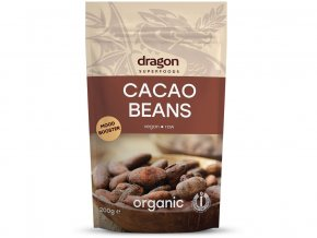 Bio Kakaové boby celé nepražené 200g