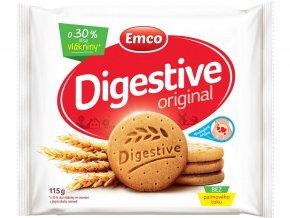 Digestive Original 115g - křehké sušenky