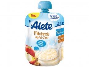 Mléčná rýže s jabky a skořicí 85g