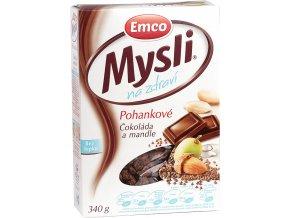 Mysli Pohankové - Čokoláda a mandle 340g