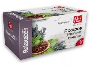 Čaj RELAXACE - rooibos s meduňou a levandulí