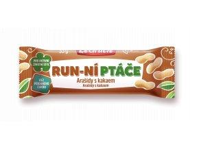 Tyčinka  Run-ní ptáče arašídy s kakaem 35g