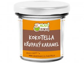 Bio kokotella karamel crunchy 150g