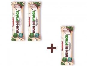 Tyčinka ovocná Run-ní ptáče s kokosem a kakaem 35g AKCE 2+1 ZDARMA