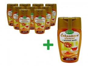 Akce Čekankové slazení s přích.medu 250 g 9+1 zdarma