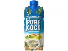 Pure Coco 100% kokosová voda 330ml