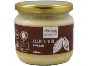 Bio Kakaové máslo 300ml RAW